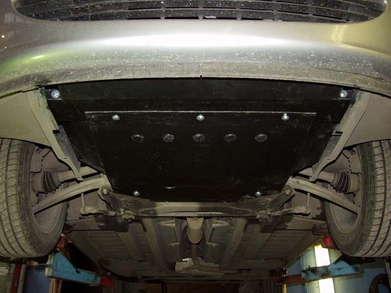 Защита картера двигателя Пежо