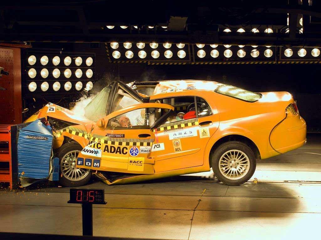 Краш-тест автомобиля