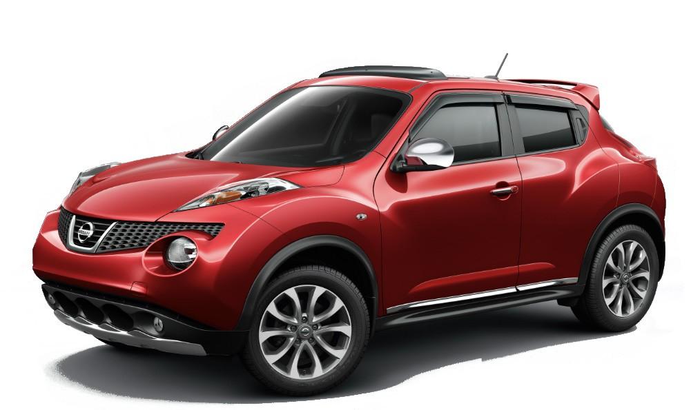Nissan Juke красный