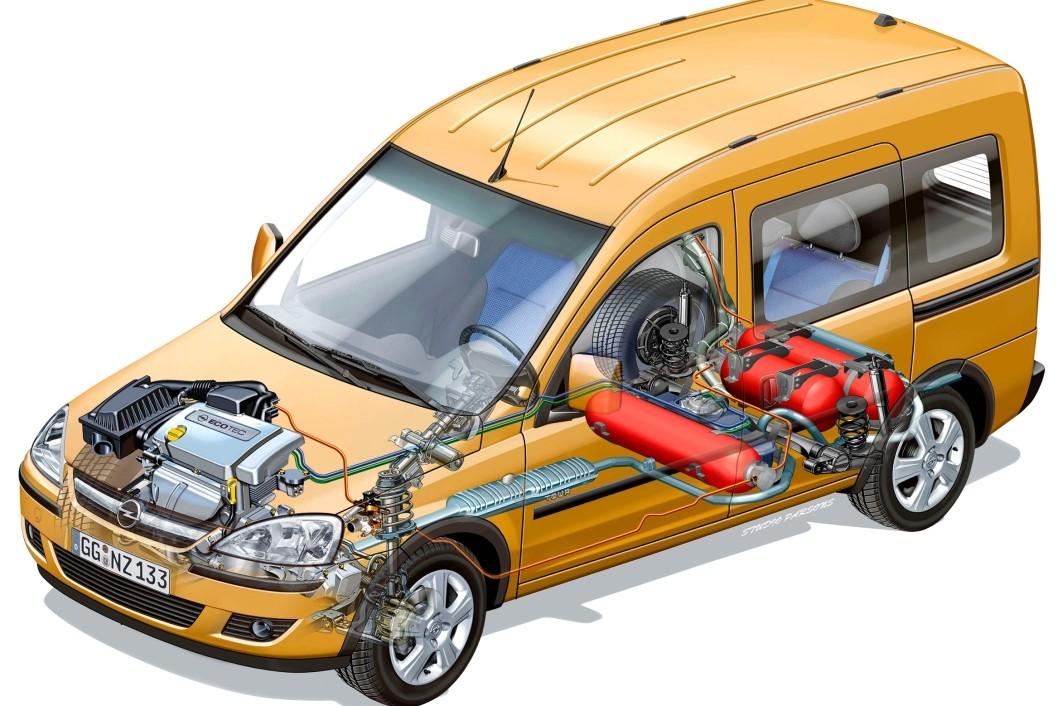 Оборудование автомобиля ГБО