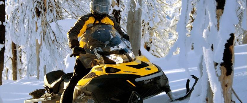 Туристический снегоход