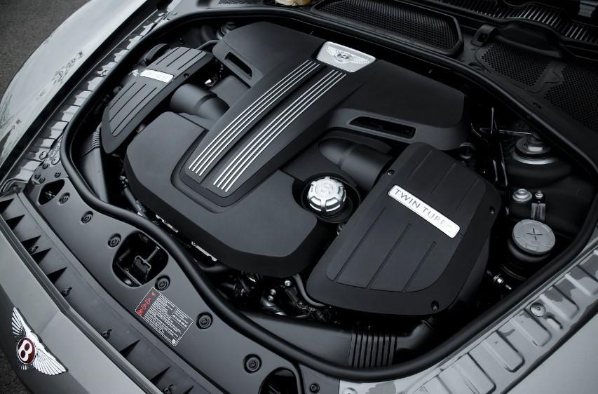 Двигатель Bentley Flying Spur V8