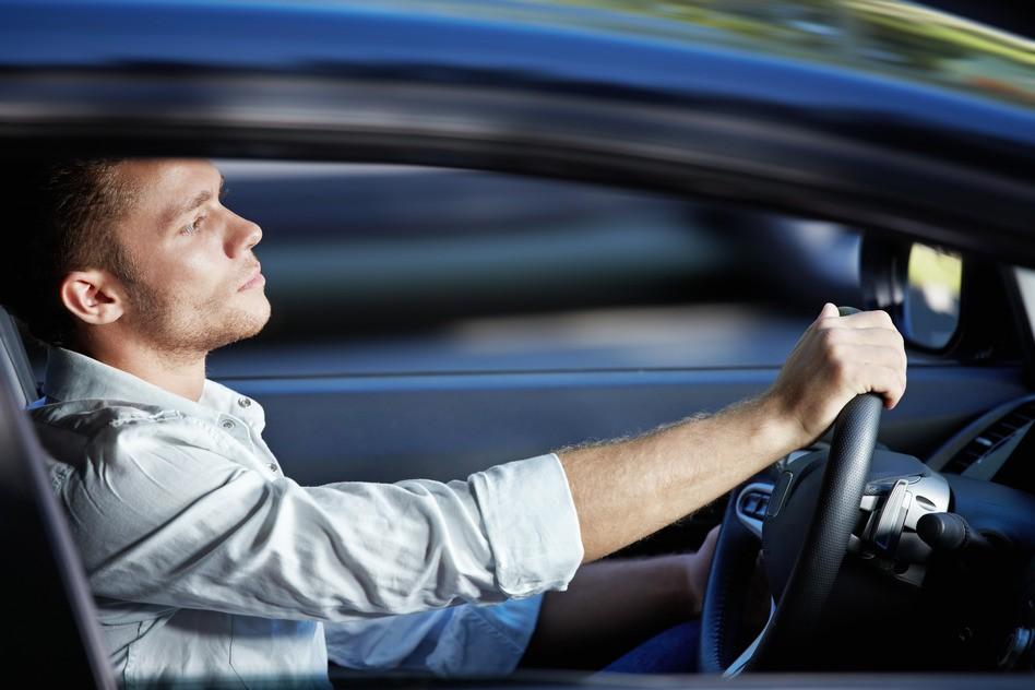спокойный водитель