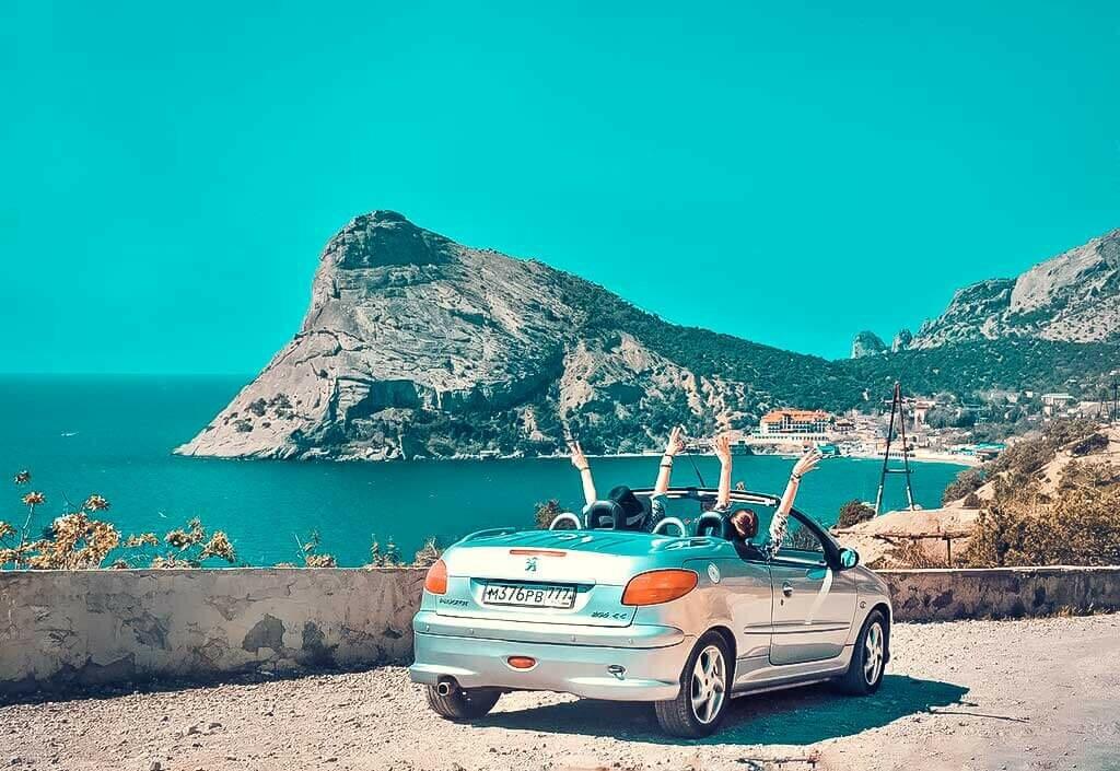 отдых в Крыму на авто