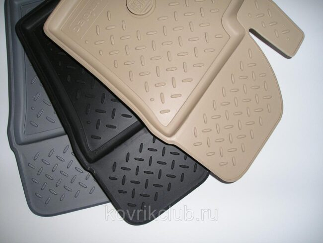 полиуретановые автомобильные коврики для салона